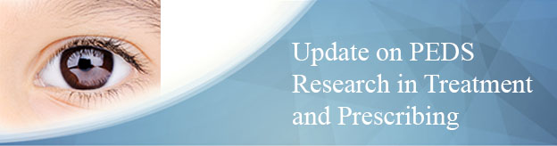 Update on PEDS Research in Treatment and Prescribing